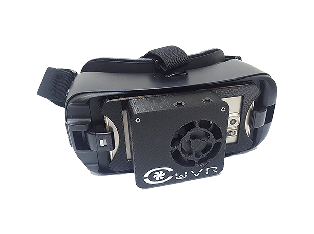 CUVR Ultimate Samsung Gear VR Fan Cooling