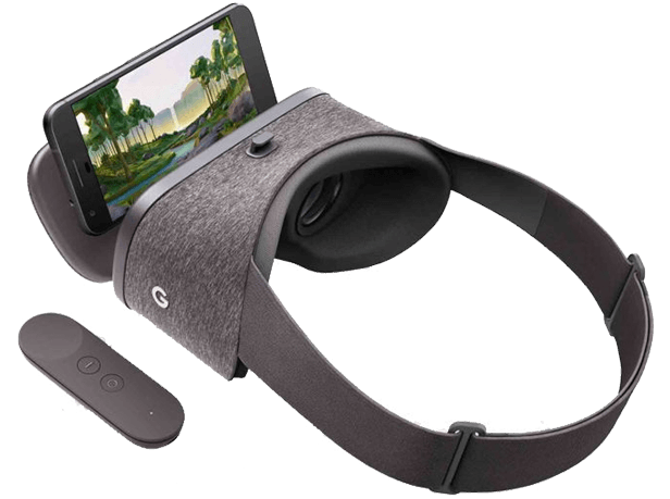 Google Daydream View Virtual Reality Comparison