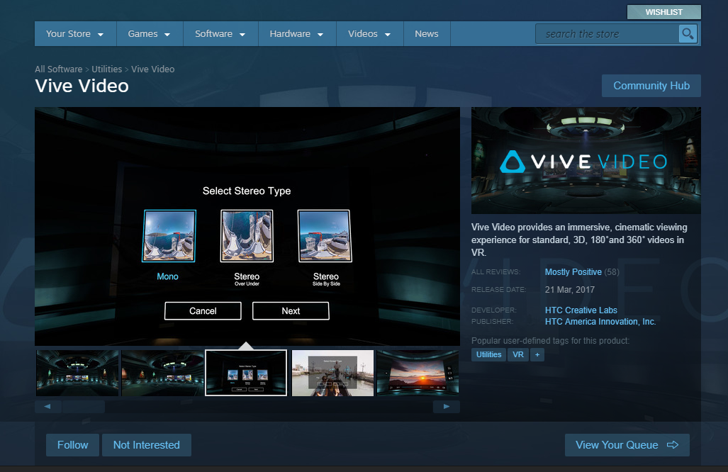 htc vive download